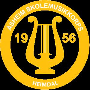 Åsheim skolemusikkorps Logo